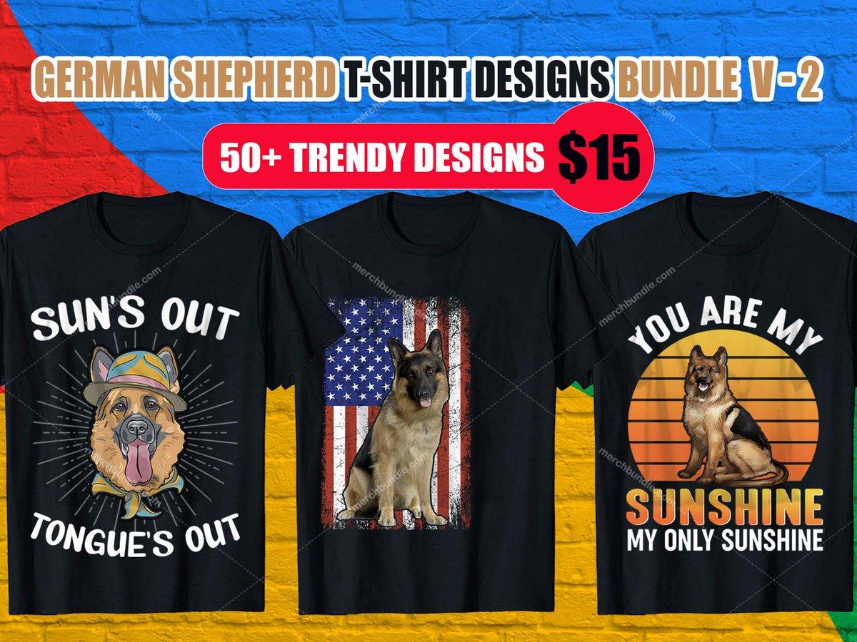German Shepherd T-Shirt Design. - Order T-Shirt:  - Buy Bundle T-Shirt:  - #shirt #tshirt #shirtdesign #tshirtdesign #etsy #Teespring  #branding  #illustration #GermanShepherdtshirt  #GermanShepherdtshirts #GermanShepherdshirt