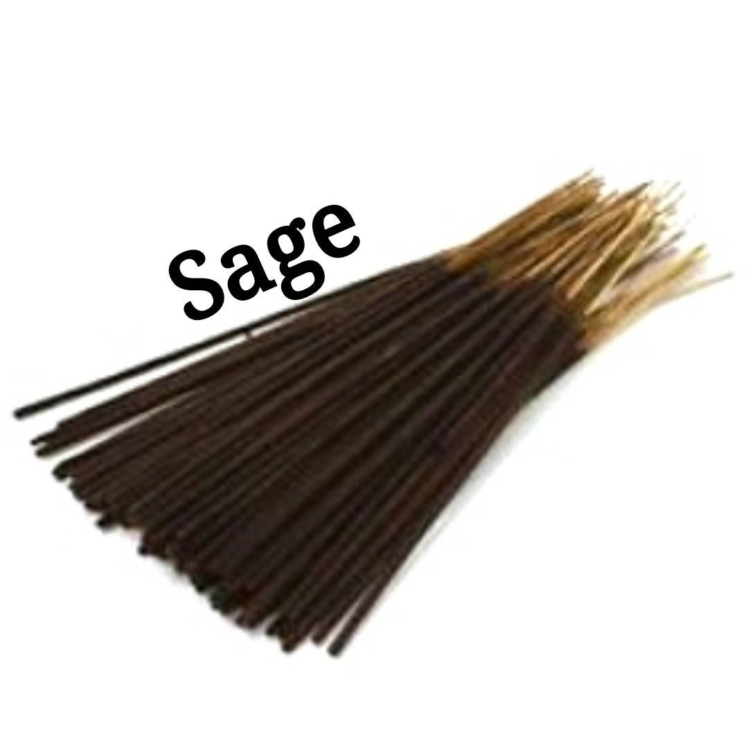 Incense Sticks | Sage | 30 Incense Sticks | Incense Bundle  #Wedding #Incense #BlackFriday #Etsy #PerfumeBodyOils #AromatherapyOil #CyberMonday #HomeFragranceOil #GiftShopSale #HerbalRemedies #11InchIncense