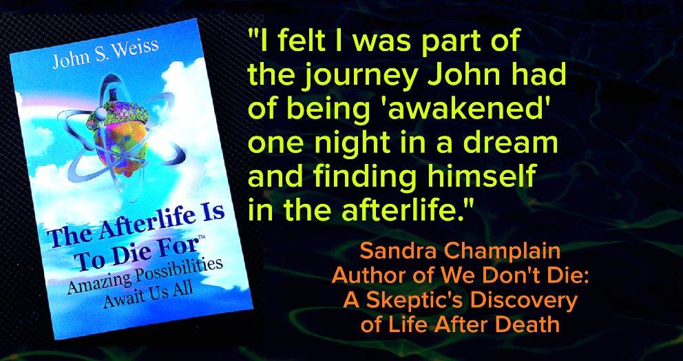 5 Stars @WeissJsw819  #books #afterlife #dreams #LifeAfterDeath #death #OtherSide #spirit