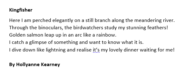 Another superb entry from the Waterways Storymaking Festival 2019 Creative Writing competition.  Remember to like, retweet and comment below 👇  #CreativeWriting #StoryMaking #Competition