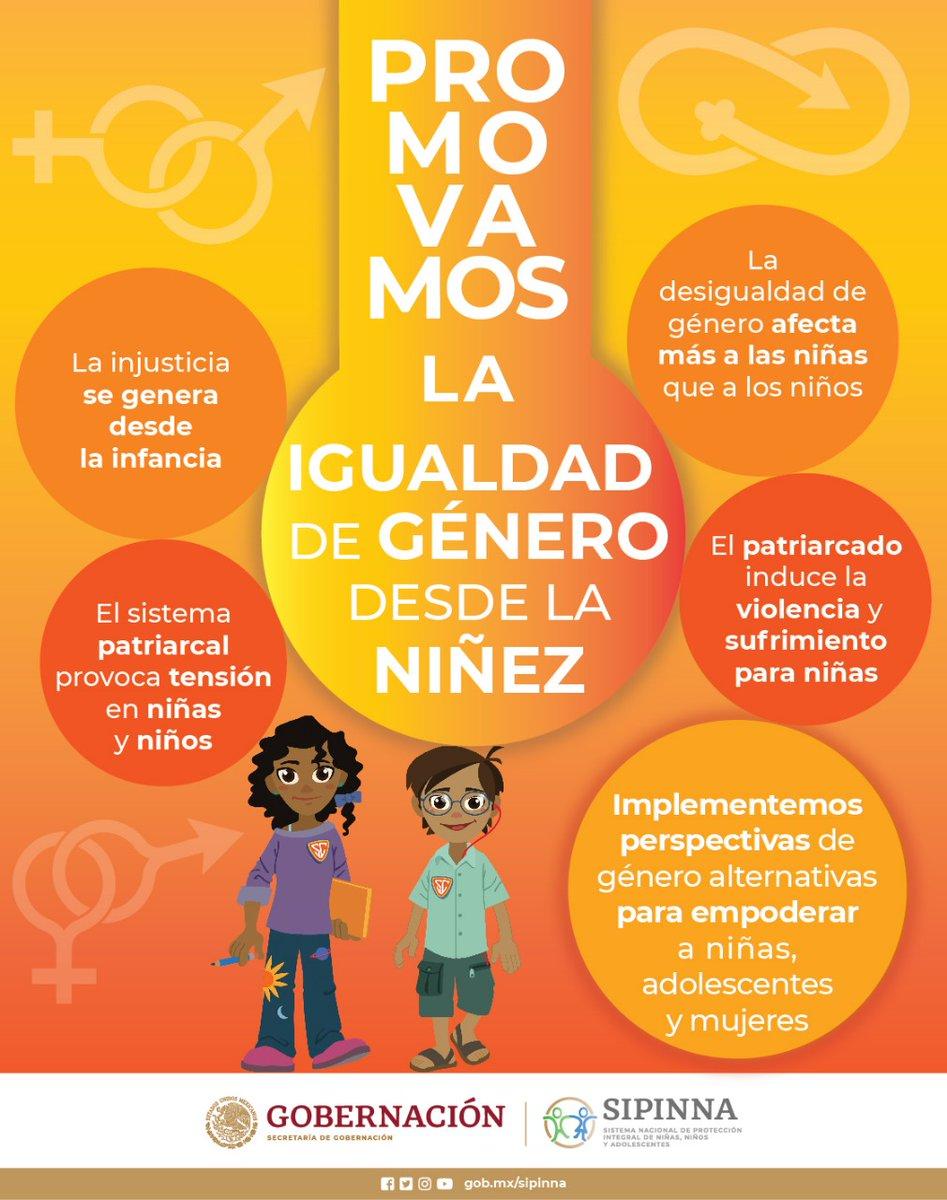 """¿Qué hacer para que niñas, niños y adolescentes puedan construir su proyecto de vida en igualdad y sin estereotipos? Este #DíaNaranja te compartimos información y te invitamos a ver de nuevo el conversatorio: """"Igualdad de género desde la niñez"""" 👉  #SIPINNA"""