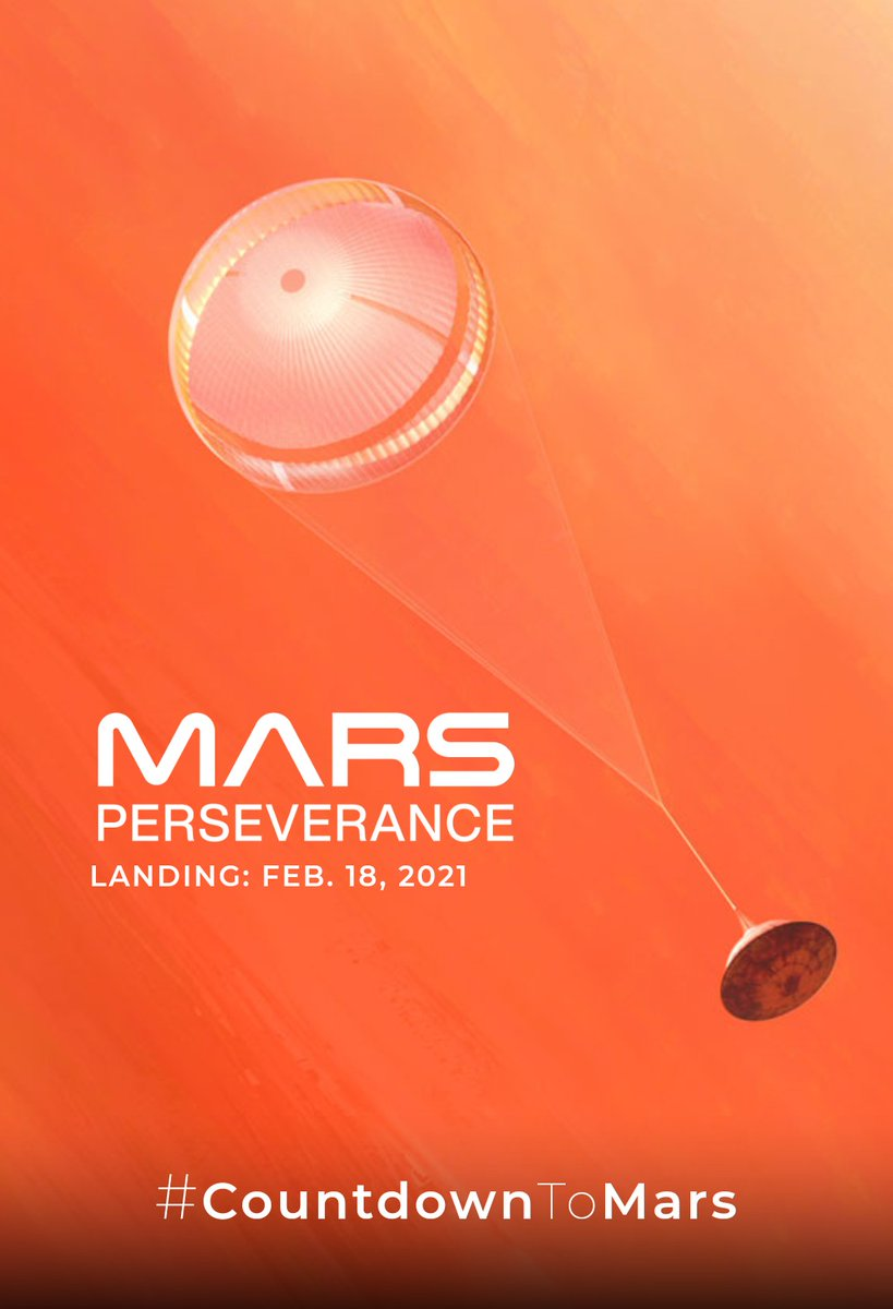 So @NASA will land the Perseverance rover on Mars with my name on it for my birthday. What are you getting me?😅🚀🔴 #countdowntomars