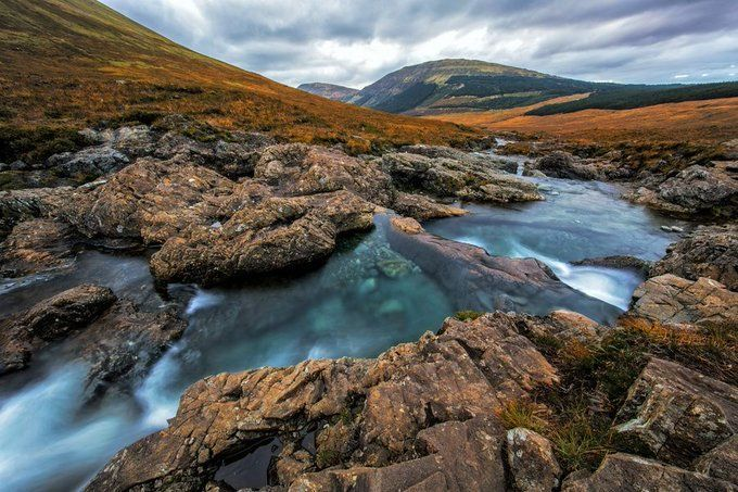 Fairy Pools at the Isle of Skye in Scotland  #Scotland #photography #landscape