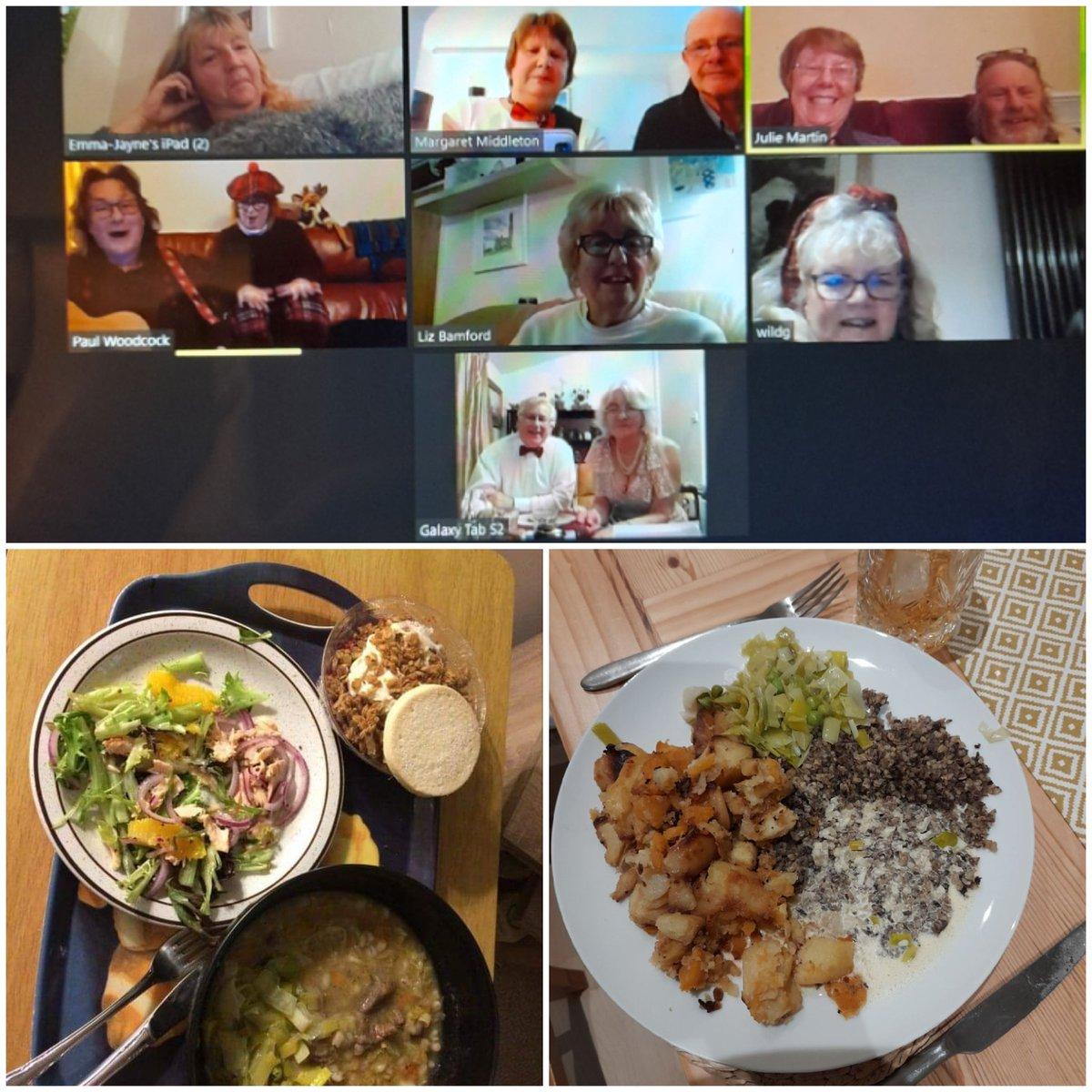 #VirtualBurnsNight in Devon (& Hampshire!) #goodfriends #donaldwheresyourtroosers https://t.co/ZdGPrWnPYz