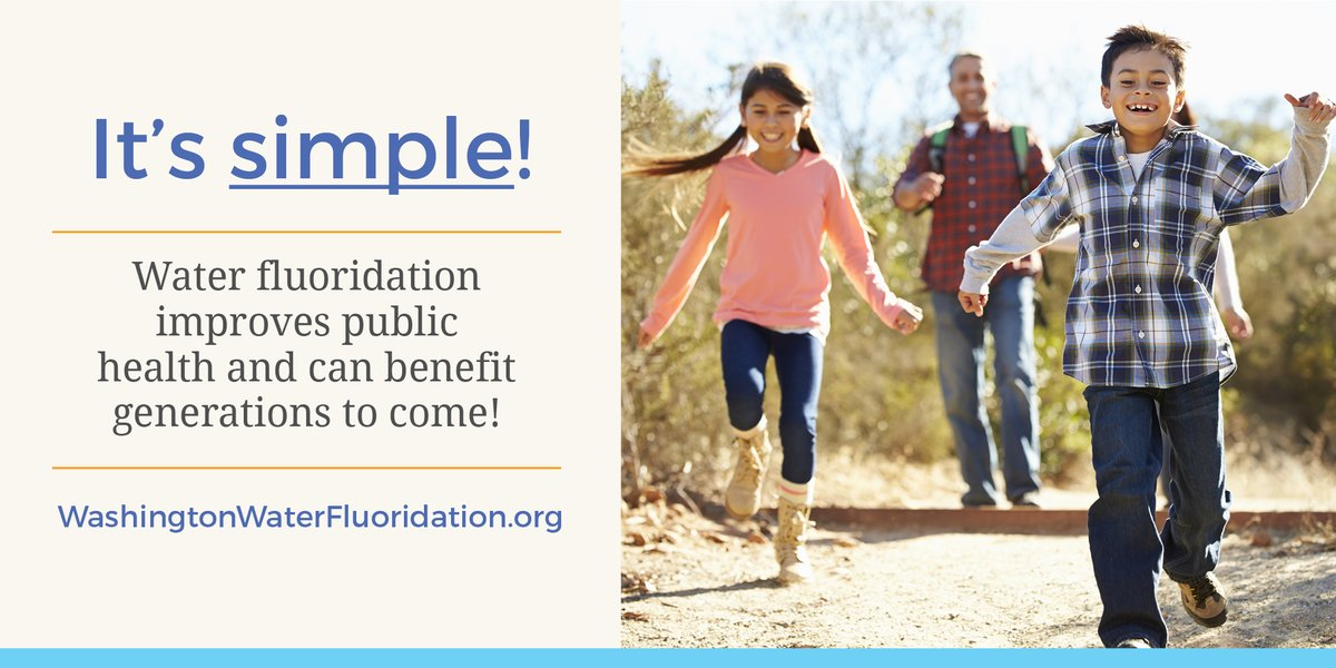 How can you help improve oral health equity in our state? Visit http://WashingtonWaterFluoridation.org to find and share important resources about community water fluoridation! #NationalFluorideDay