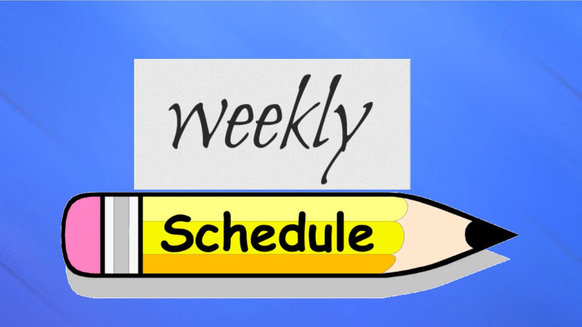 YT Schedule for Week of 1/25-1/31:  Tue, 1/26 & Thu, 1/28: #NBALIVEMobile Season 5 Gameplay  Sat, 1/30: #ReadingWithMcsuper Episode 14  The future weekly schedule will feature #SuperMario3DAllStars, likely on Mon, Wed, and Fri.