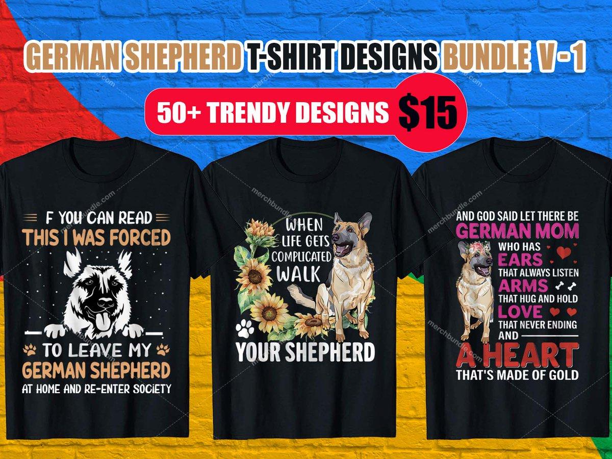 German Shepherd T-Shirt Design. - Order T-Shirt:  - Buy Bundle T-Shirt:  - #shirt #tshirt #shirtdesign #tshirtdesign #etsy #Teespring  #branding  #illustration #GermanShepherdtshirt  #GermanShepherdtshirts #GermanShepherdshirt  #logo