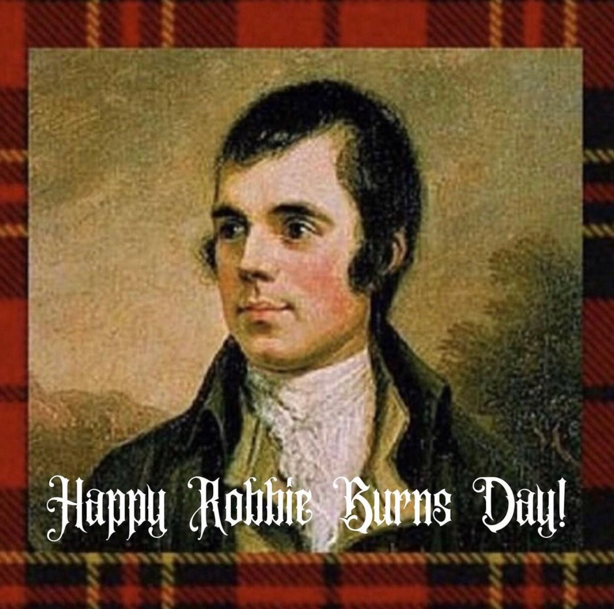 """Sláinte Mhath!"" ROBERT BURNS (25 January 1759 – 21 July 1796) This Scottish gal is puttin' on her tartan & wishing all ye fellow Scots a Happy Robbie Burns Day! Good Health! #robbieburnsday #haggis #scotchegg #auldlangsyne #Scotland #robertburns #happyrobbieburnsday"
