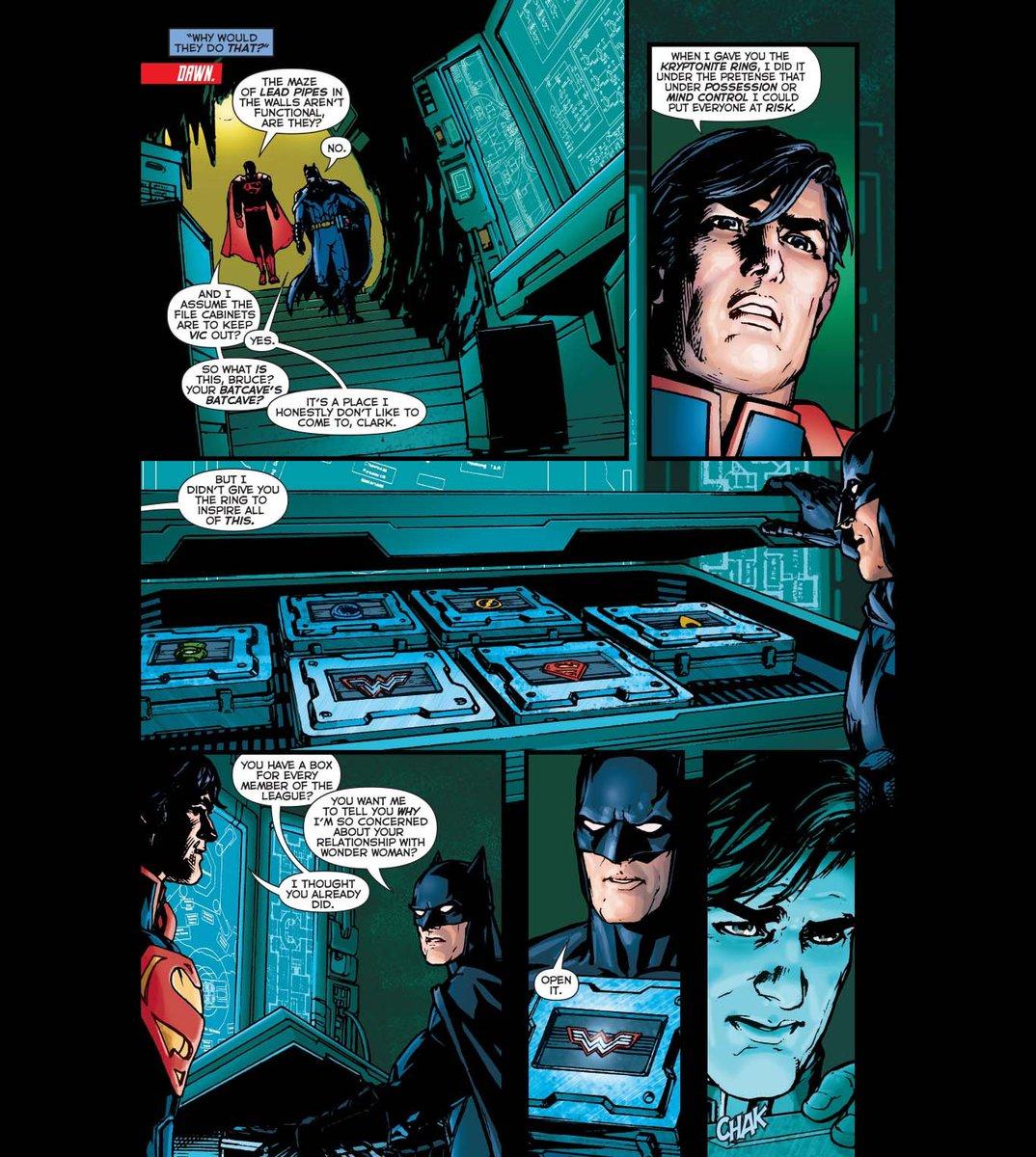 What's a comic book moment that lives in your head rent free? #Batman #Superman #WonderWoman