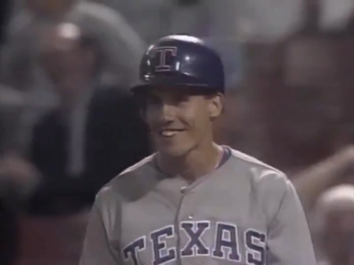 Replying to @MLBVault: Four straight foul balls into the dugout?!  This clip never gets old. 🤣