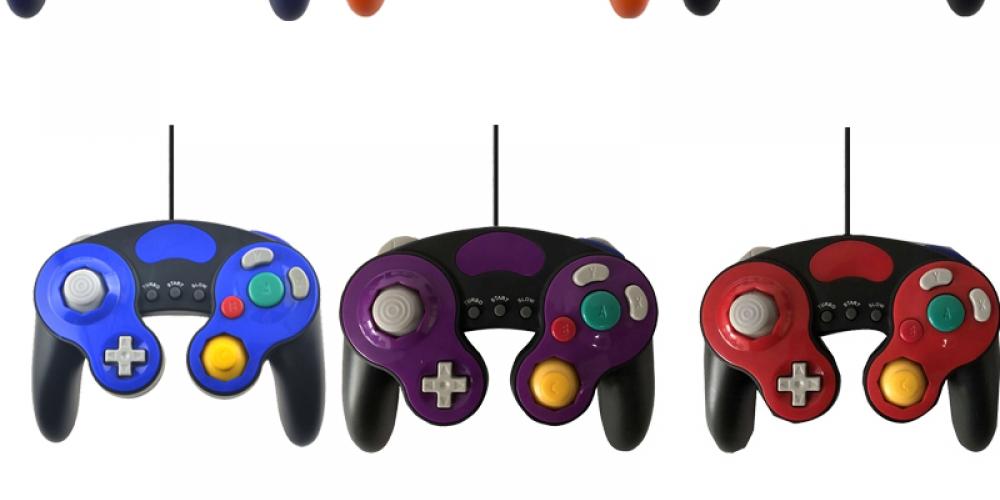 #lookbook #clothing Colorful Gamepad for Nintendo GamecubeGC