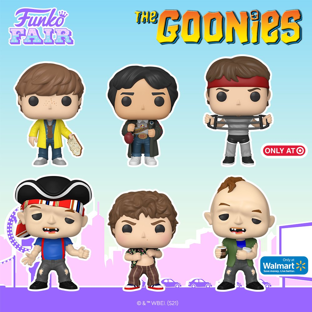 Funko Fair 2021: The Goonies. Pre-order your favorites now - look for the link in our stories! #FunkoFair #Funko #FunkoPop #TheGoonies