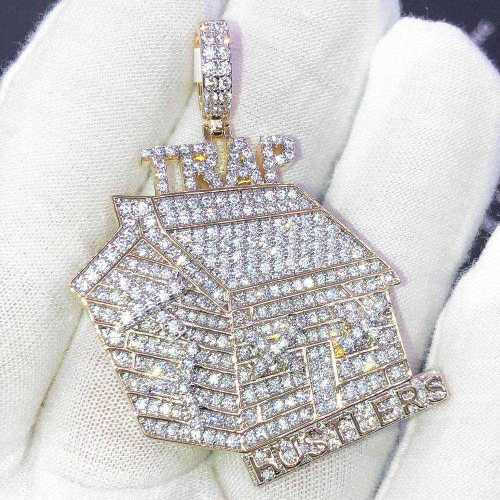 Trap Hustlers CZ Hip Hop Bling Bling Pendant! Shine With  #hiphop #hiphopbling #bling #model #photooftheday #instagood #nofilter #tbt #igers #picoftheday #love #nature #swag #lifeisgood #caseofthemondays
