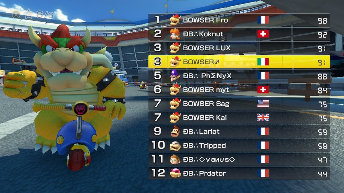 #MK8D #NintendoSwitch #BowserinAction ggs DB!