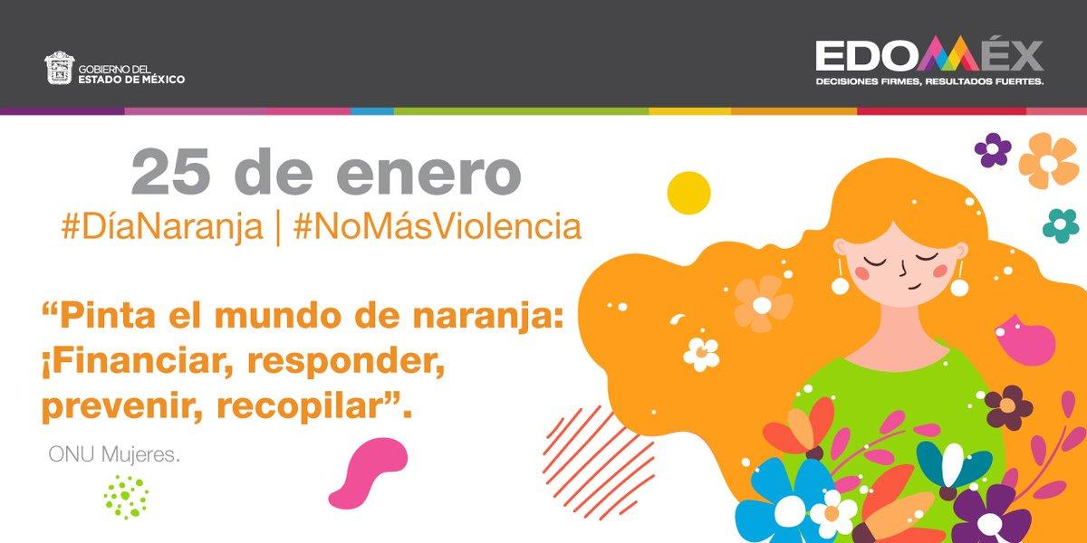 Este #DíaNaranja pongamos un alto total a la violencia de género.