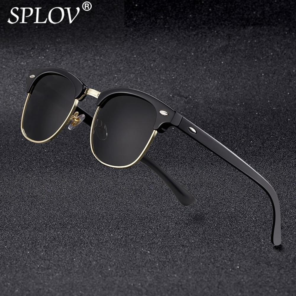 New Fashion Semi Rimless Polarized Sunglasses Men Women Brand Designer Half Frame Sun Glasses Classic Oculos De Sol UV400  #Fashion #clothes #clothing #watches #footwear #shirts #Tshirt #shoes #sandal #heels