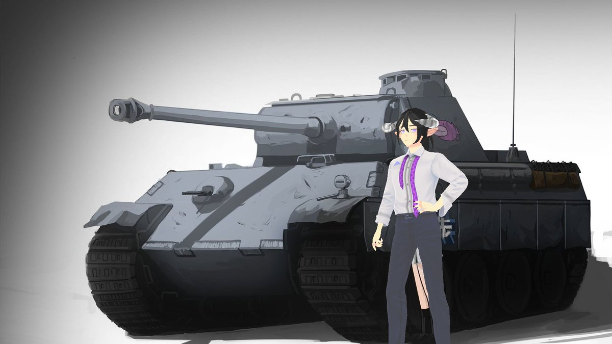Ok! I'm joining the #VTuberUprising and I got a fuckin tank I stole it off some random anime girl, this shits mine now lmao