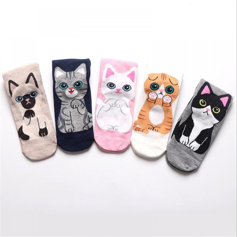 Latest Adorable Cat Crew Socks.  Share this --->  Please Follow Us if you like it! #bags #clothing #costumes