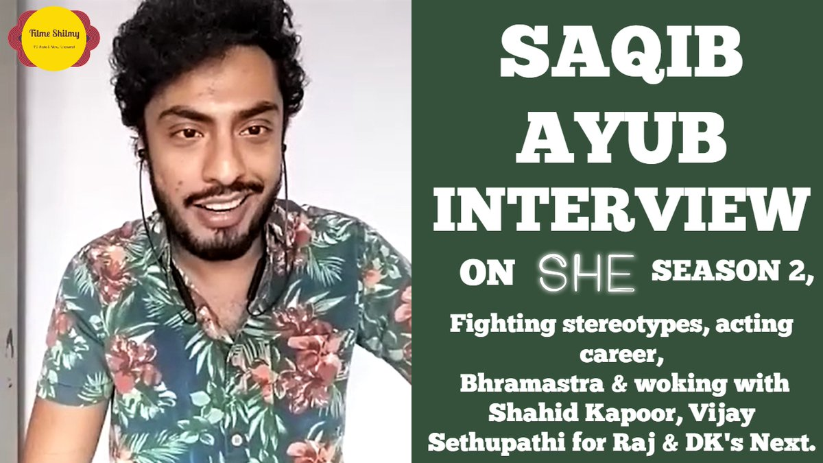 INTERVIEW | #SaqibAyub talks about his acting career in forthcoming projects like #RajAndDK's next with #ShahidKapoor & #VijaySethupathi, #Bhramastra with #RanbirKapoor and breaking through as an emerging talent.   Watch here! >>  <<