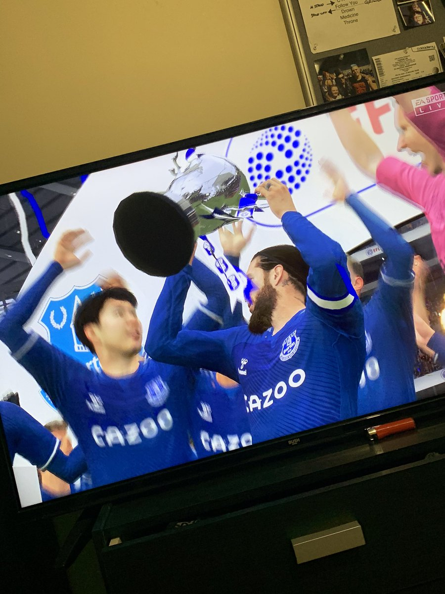 @sunflowersutr first in clubs illustrious history 💙 John Lenin leads his team to a 7-0 win over liverpool in the carabao cup final #FIFA21 #CarabaoCup