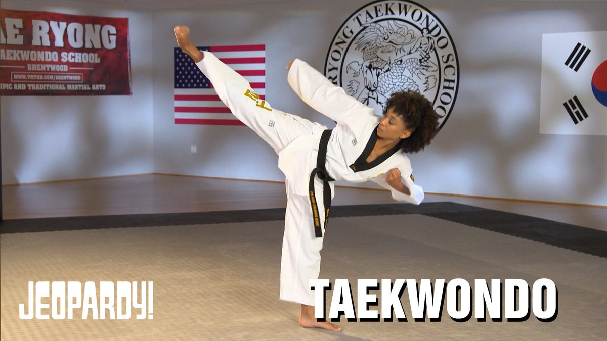 Can you guess these Taekwondo moves demonstrated by @BeingZeeJames?