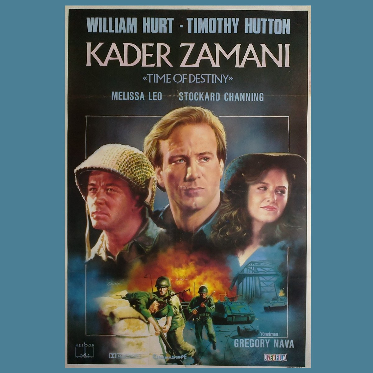 KADER ZAMANI 1988 A Time of Destiny William Hurt / Timothy Hutton  Turkish edition #vintage #movie #poster #posters #movieposter #cinema #sinema #film #films #collection #photo #art