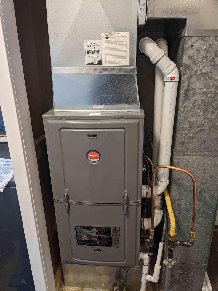 Goodman hight efficiency  #mastros #mastrohvac #yqg #windsor #hvac #heat #cool #heatingandcooling #furnace #firnacereplacement #keeprite