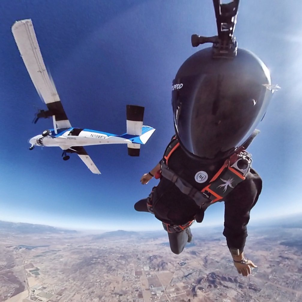 Can't wait to get back to this view! 🤙#skydiving #insta360 #skydiver #sky #parachute #skydivers