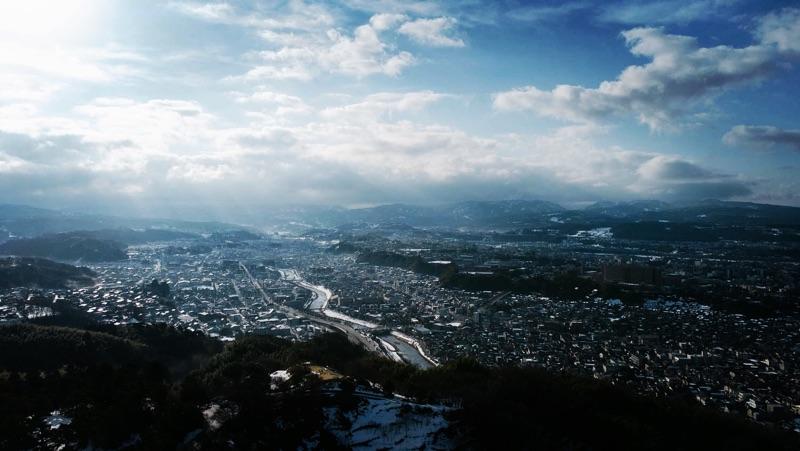 Good morning Kanazawa.  #photography #drone #sky #kanazawa