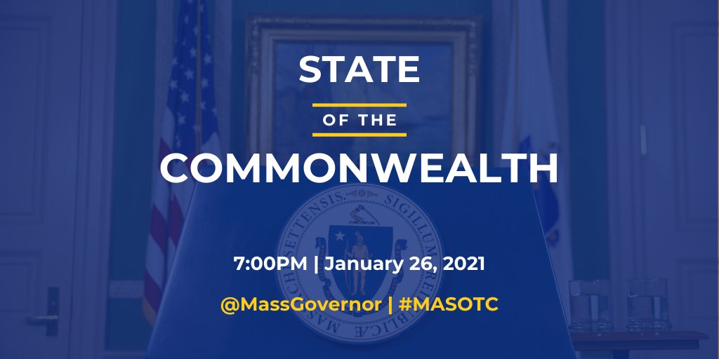 State of the Commonwealth - Jan 26, 2021
