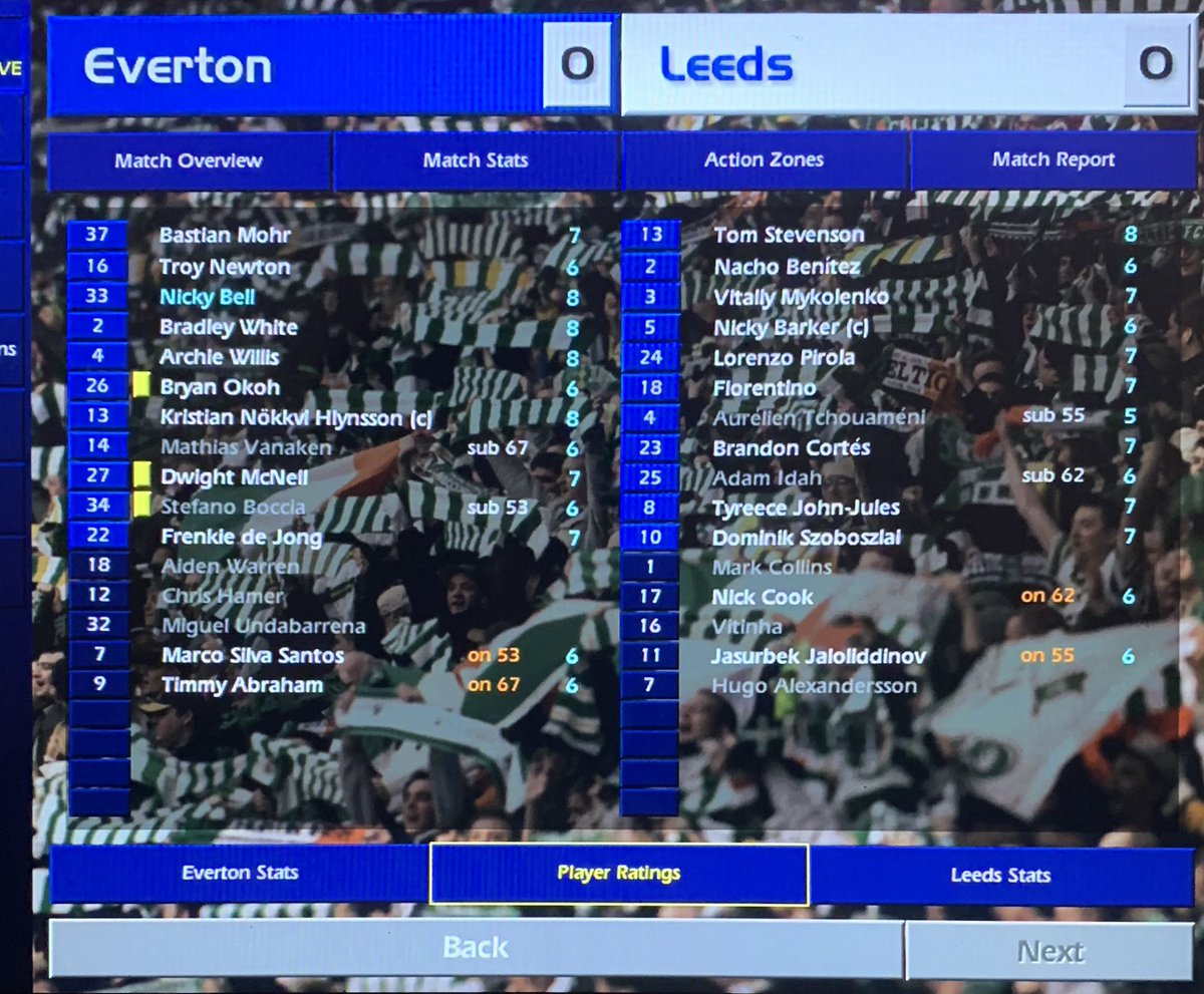 'A turgid, non-advert for the Premier League. I head down the tunnel at FT shoulders hunched trying to remember the last time I really enjoyed management & I can't. Managing the club I've always supported is not fun...what a depressing thought' @champman0102 #cm0102 #lufc #efc