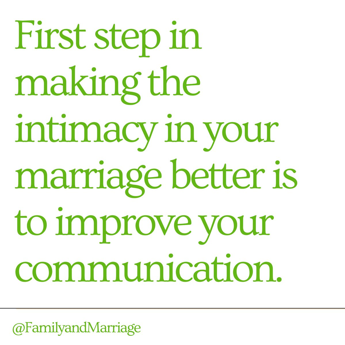 Communication affects a lot of things in your marriage.  . . . . #marriedlife #marriage101 #marriage #quarantinelife #marriagegoals #marriageadvice #family #communication