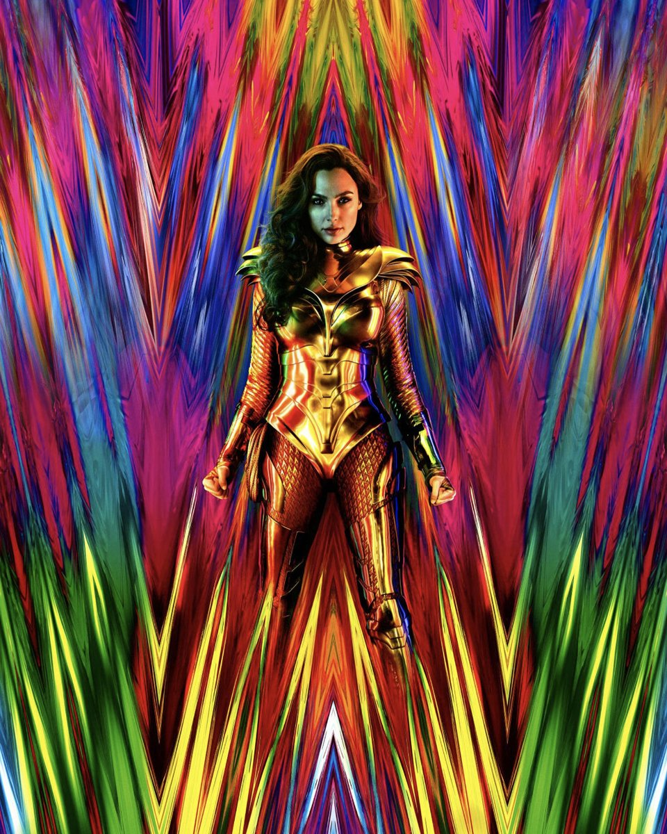 I didn't care for #WonderWoman84, I didn't hate it as much as the people I saw it with, they hated it with a passion, for me there was more indifference than hatred, it isn't the worst movie I saw in 2020 but it was far from the best   Grade: D