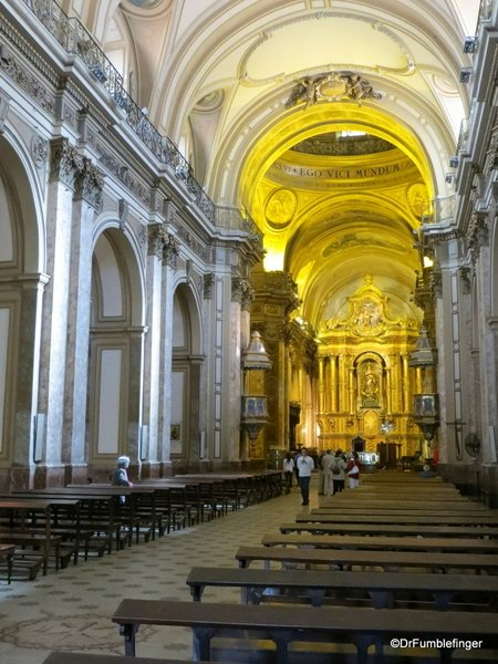 Metropolitan Cathedral, Buenos Aires (Where Gumbo Was #411)  #Travel