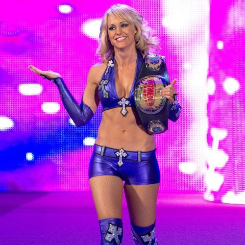 Happy birthday to former WWE Divas and Women\s Champion, Michelle McCool!