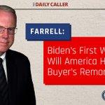 "Image for the Tweet beginning: ""#JoeBiden's first week in office"