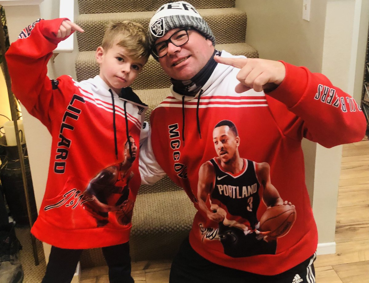 @Dame_Lillard @CJMcCollum We are one of the top duos on our home court also 🔥 keep droppin them W's!