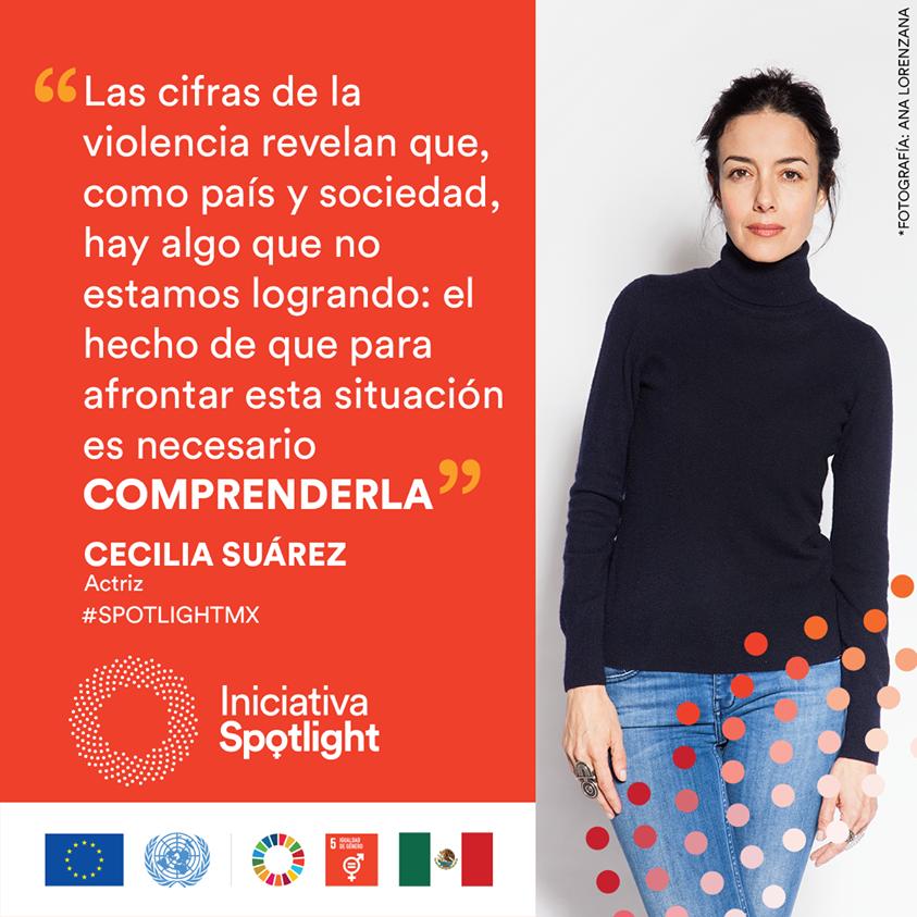En México, entre 10 y 11 mujeres son asesinadas cada día por razones de género (SESNSP). Hoy, en el primer #DíaNaranja del año, es buen momento para actuar y erradicar cualquier violencia contra las mujeres y las niñas. @CeciliaSuarezOF #DíaNaranja #Únete #SpotlightMX