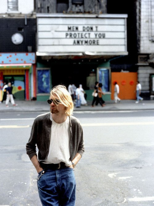 Replying to @ThatEricAlper: Kurt Cobain, New York City 1993