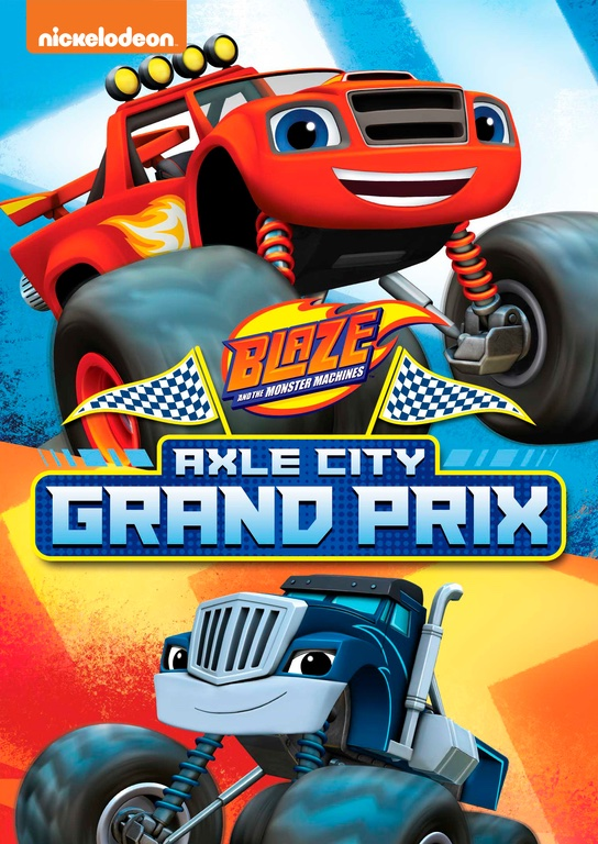 Blaze and the Monster Machines: Axle City Grand Prix Review and Giveaway