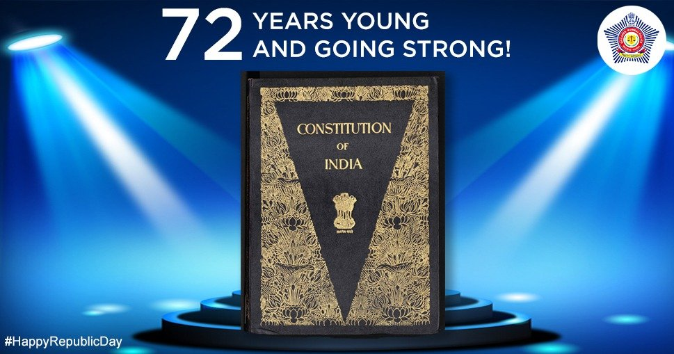 A book to follow in letter and spirit for ages to come. A very #HappyRepublicDay to one and all!   #RepublicDay