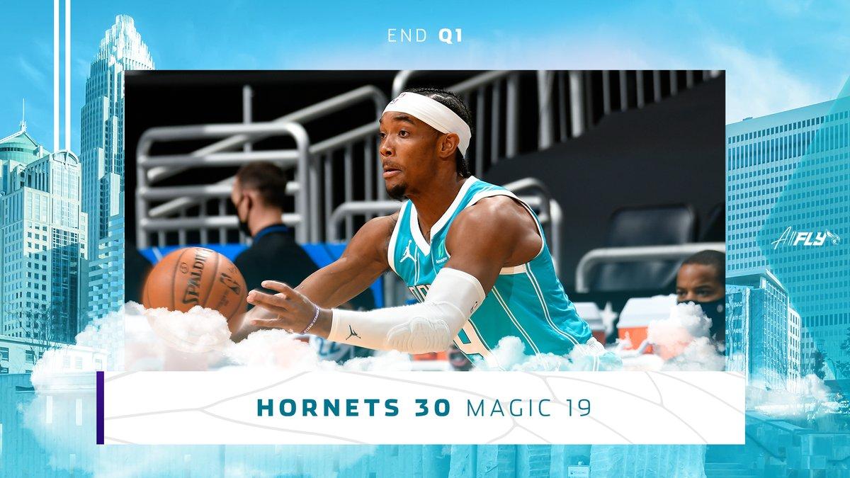 A hot start for your Hornets 😎  #AllFly
