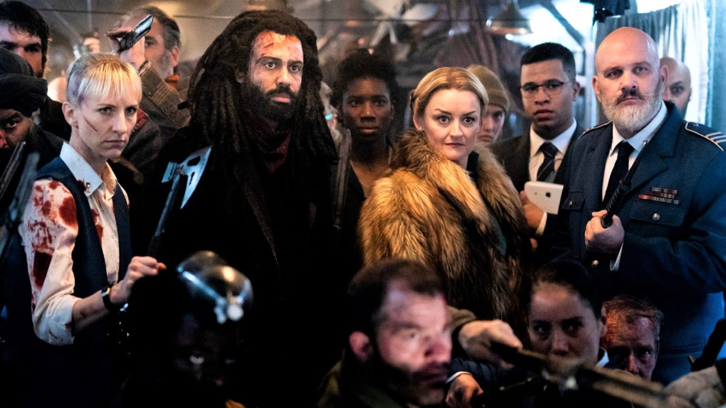 Snowpiercer Season Two cast defending the train.