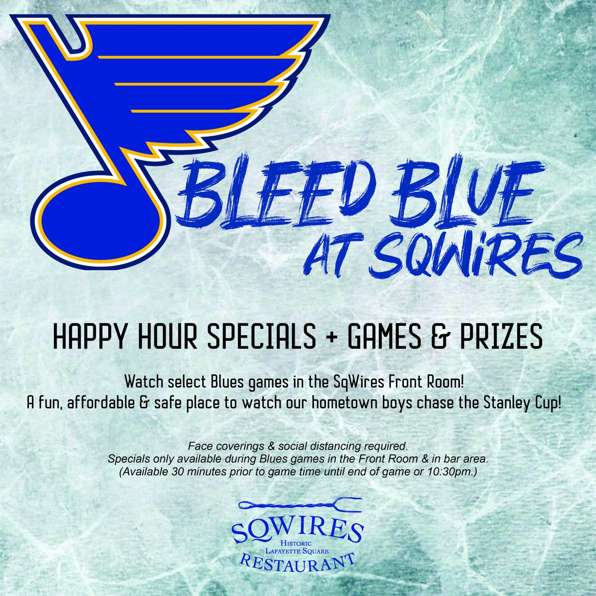 Who's ready to cheer on the #stlblues with us?!  (Starts with tomorrow's game!)  #stlrestaurants #stlevents #LGB #happyhour #stlfood