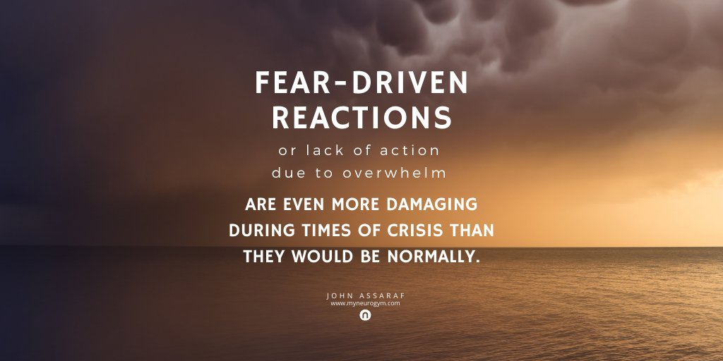 Don't let fear sabotage your future 😨. Eliminate self-sabotaging thoughts, emotions, and behaviors. Join this #freetraining about How to Conquer Your #Fears, Get Untuck, & Thrive in Challenging Times. ➡️