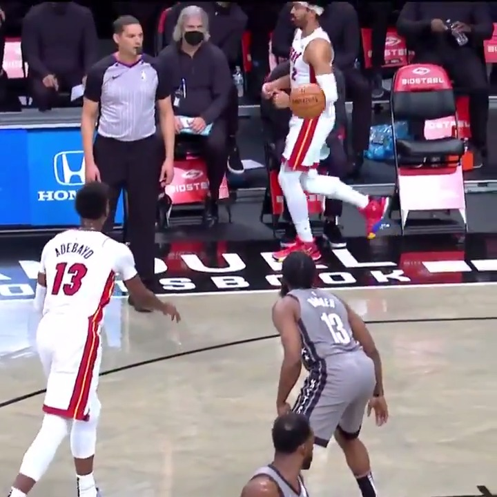 Replying to @shaqtin: Bam really thought he had Gabe Vincent wide open 😅  #Shaqtin