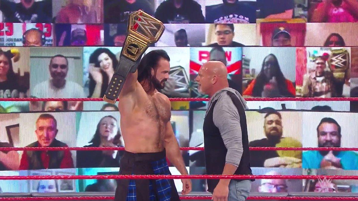 @WWEUniverse's photo on Goldberg