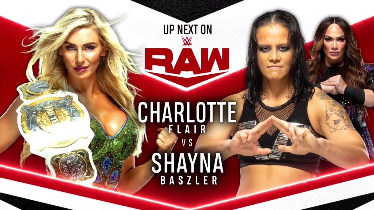 UP NEXT on #WWERaw ⤵️  @NoAngelNoLonger vs. @SuccumbOrSubmit
