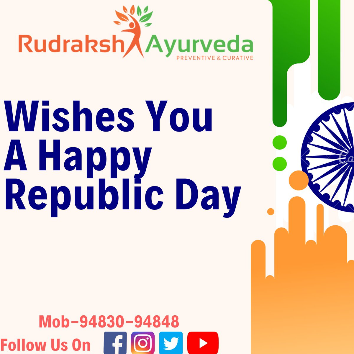 #Republic_day #Indian_republic_day #Constitution #Ambedkar #Rudraksh_Ayurveda #Ayurveda #Health #Healthy #Natural #Ballari #Bellary #Prventive #Curative #Mental_Health #Mindset #Positive_Shift #Organic #Garbha_Sanskara #Professional_Preventive_Health #Walk_and_drink #Healthy https://t.co/RaWL9684H1