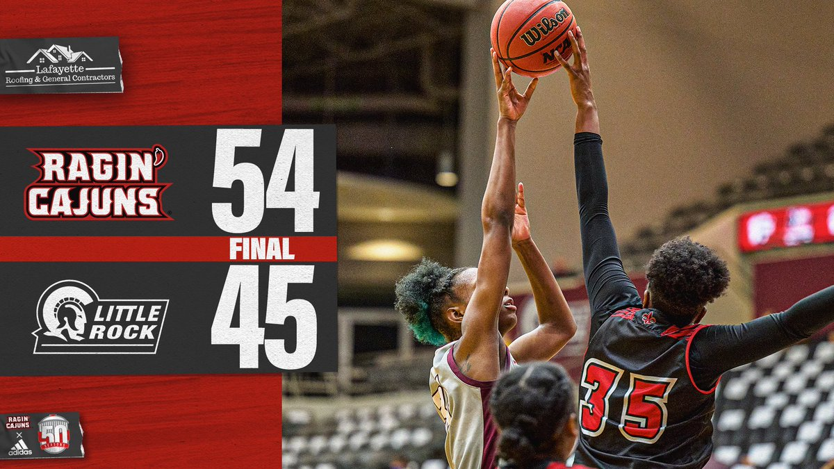For the fourth-straight game...  🗣 𝗟𝗢𝗨𝗜𝗦𝗜𝗔𝗡𝗔 WINS! 👏  #GeauxCajuns | @LafayetteRoofin https://t.co/RNR02VQBsD